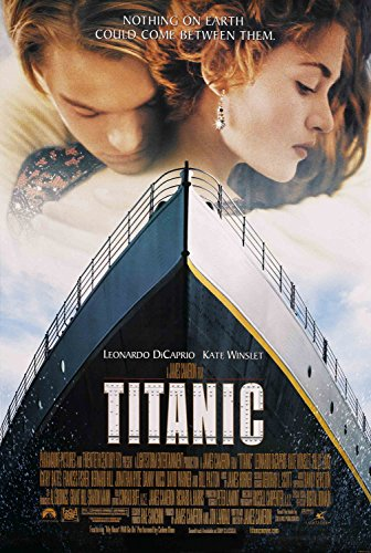 JIONK® Titanic - Film Promo Art - Leonardo DiCaprio - Kate