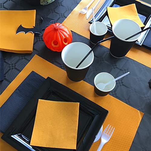 THOUY F3000BLA Set de table Papier gaufr/é Blanc 40 x 30 x 0,2 cm