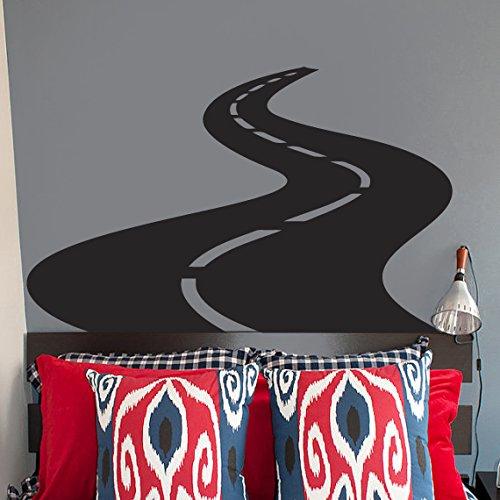 CreativeWallDecals Vinyl Wall Decal Sticker Bedroom Road Racer Street Cars Moto Race Kids Room R1665 ()
