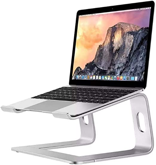 Portable Lap Desk Laptop Table with Phone Tablet Holder Multifunctional Bamboo Computer Tray Bed Table for Study Work