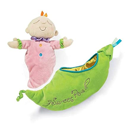 Xueliee Kids Pea Baby Plush Toy Children Snuggle Pod Sleeping Placate Doll