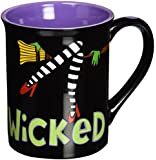 Enesco 4030233 Our Name Is Mud by Lorrie Veasey Wicked 16-Ounce Mug, 4-1/2-Inch