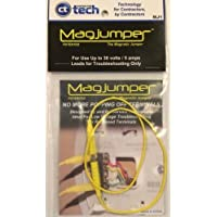 superbobi Magjumper - Magnetic Tip Jumper HVAC Testing Troubleshooting ToolYELLOW