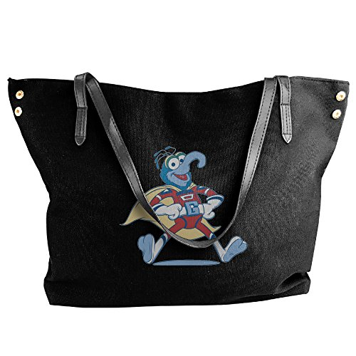 The Muppets Gonzo Superhero Costume Women's Shoulder Bags Casual Handbag Travel Bag Messenger Canvas (Gonzo Costumes)