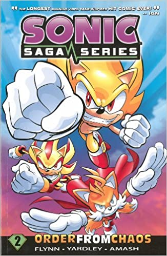 Amazon.com: Sonic Saga Series 2: Order from Chaos (9781936975402): Sonic Scribes: Books