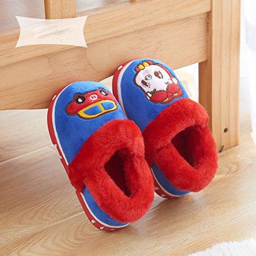de Sacs avec Chaud Sol de Plancher de Hommes Hiver Coton Des B Et Chaussons Enfants Femmes Pour Pantoufles 7FqFSg