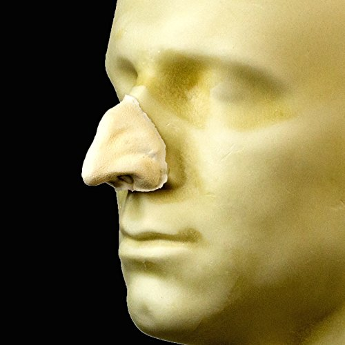 Rubber Wear Foam Latex Prosthetic - Small Witch Nose FRW-006 - Makeup and Theater ()