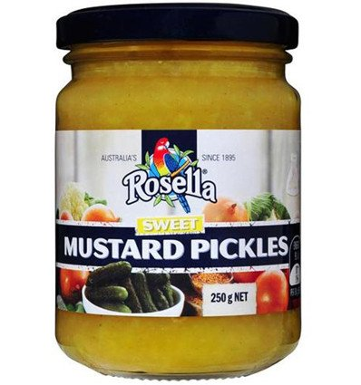 - Rosella Sweet Mustard Pickles 250gm