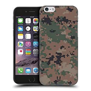 Head Case Designs Marpat Woodland Military Camo Protective Snap-on Hard Back Case Cover for Apple iPhone 6 4.7
