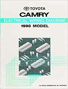 Toyota    Camry 1998 Model Electrical    Wiring       Diagram     Amazon