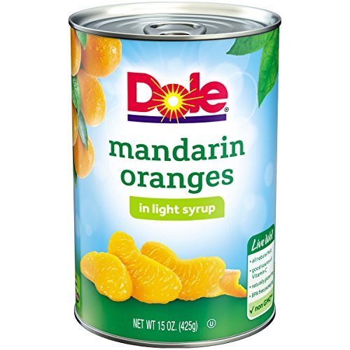 DOLE Mandarin Oranges in Light Syrup 15 oz. Can