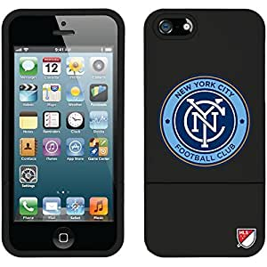 Coveroo iPhone 6 plus 5.5 Black Slider Case with New York City FC Emblem Design