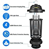 GTOCS Bug Zapper Outdoor Electric, Fly Zapper