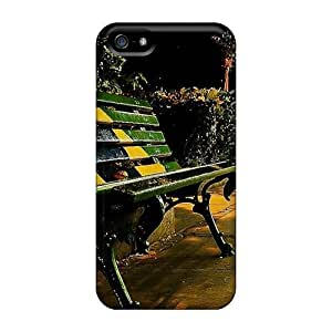 MeSusges Phone Case For HTC One M8 Cover - Retail Packaging - Bench In The Park