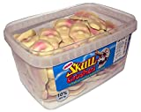 Alma Strawberry & Cream Skull Crushers Flavoured Sweets Approx 120 Piece Per Tub