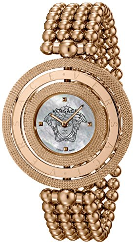 Versace Women's VQT040015 Eon Rose Gold Ion-Plated Stainless Steel Watch