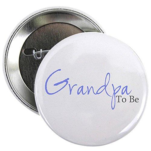 Grandpa Pin - CafePress - Grandpa To Be (Blue Script) Button - 2.25