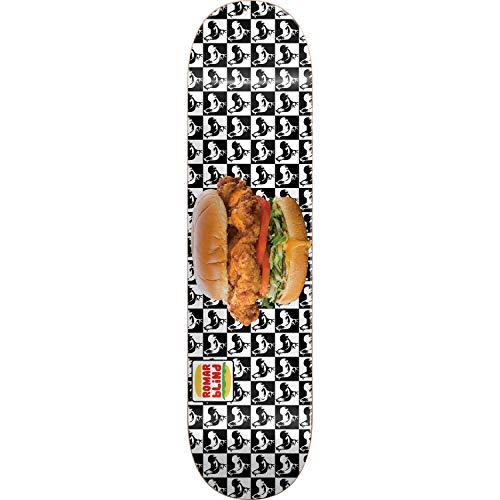 懇願するマリナー記念碑的なブラインドスケートボードKevin Romar Tribute Chickenスケートボードデッキ樹脂7 – 8.12インチx 31.8