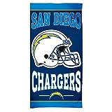 "WinCraft NFL San Diego Chargers Fiber Beach Towel, 30"" x 60"""