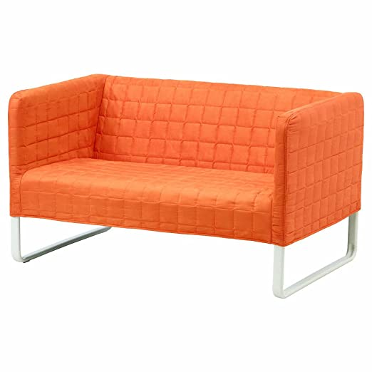 IKEA ASIA Knopparp - Sofá de 2 plazas, Color Naranja: Amazon ...
