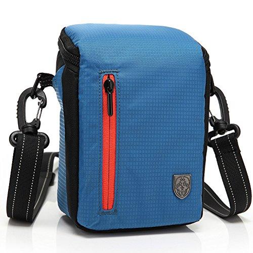 First2savvv BDV2503 blue luxury quality anti-shock Nylon camera case bag for panasonic HC-V130EB-K HC-V250EB HC-V550CT HC-V750EB-K HC-W850EB-K JVC GZ-RX115BEU GZ-RX110BEU GZ-R15BEU GZ-R15REU GZ-R10SEU