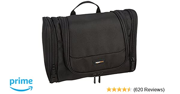 85846aa5f325 Amazon.com  AmazonBasics Hanging Toiletry Kit