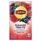 Lipton® Summer Fruits Herbal Tea Bags 20 ct