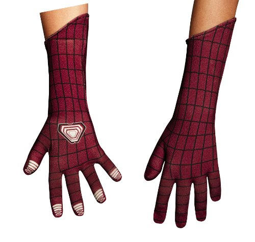 Disguise Marvel The Amazing Spider-Man 2 Movie Child Deluxe Gloves, One Size Child (Spiderman Villain Costumes)