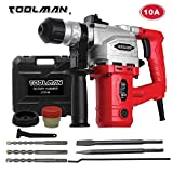 Toolman Electric Power Drill Driver 10 Amp For Heavy Duty Corded works with DeWalt Makita Ryobi Accessories