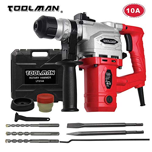 Toolman Electric Power Drill Driver 10 Amp For Heavy Duty Corded works with DeWalt Makita Ryobi - Heavy Electric Duty Drill