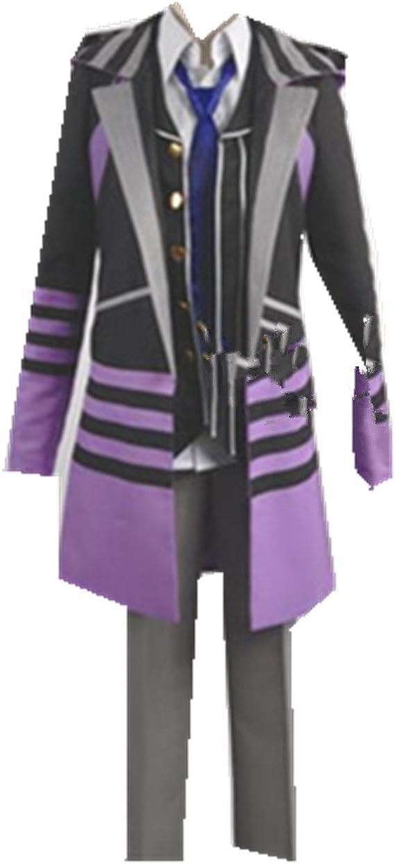 Kamigami no Asobi Loki Laevatein cosplay costume purple