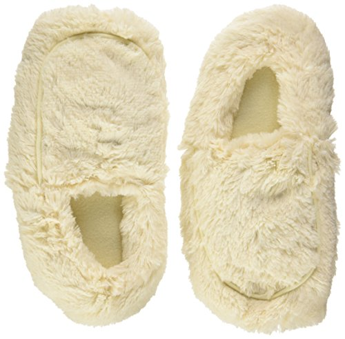 Intelex Cozy Body Slippers, Cream