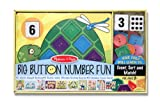 Melissa & Doug Big Button Number Fun Counting and Matching Activity Set