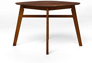 29f8708a6f GODREJ INTERIO Orbital Four Seater Dining Table (Polished Finish, Walnut)