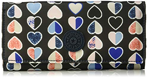 Kipling womens New Teddi Wallet,  Mercury Hearts, One Size ()
