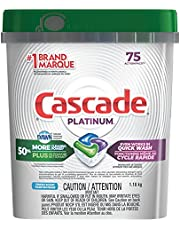 Cascade Dishwasher Pods, Detergent ActionPacs