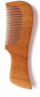 GUO Dentelures Peach peigne portable anti-statique se sentir lisse en bois bon