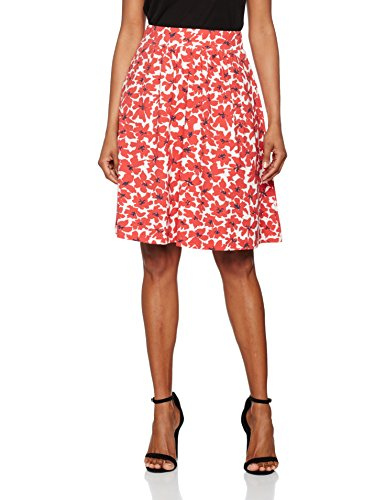 Regular Kleider natural Damen 9400 Rock Rot wear Larena Lana Larena Rxtqw6R