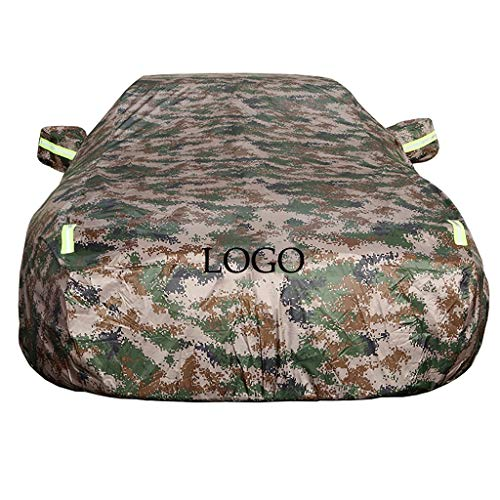 (XXchin Car Cover, with Logo Waterproof Summer and Winter Car Cover UV Protection Car Clothes to Fit Honda Camouflage (Size : Freed))
