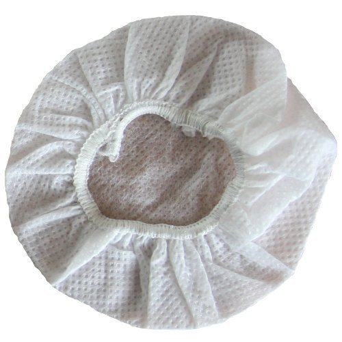 Small Stretchable Headphone Covers - White - Box of 1000 - fits most standard-size headphones and headsets