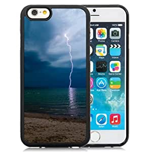 New Beautiful Custom Designed Cover Case For iPhone 6 4.7 Inch TPU With Storm Lightning Phone Case