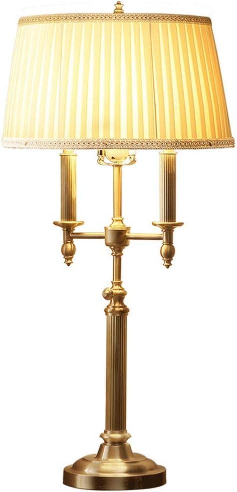Wlnnes Interior de la casa tradicional lámparas de mesa y cortinas ...
