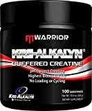 KRE-ALKALYN Buffered Creatine Powder, 100 Servings, pH-Correct Creatine, Triple-Buffered, High Bioavailability, High ATP Energy, No Loading Or Cycling Required