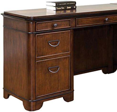Martin Furniture Kensington L-Shaped Left Computer Desk