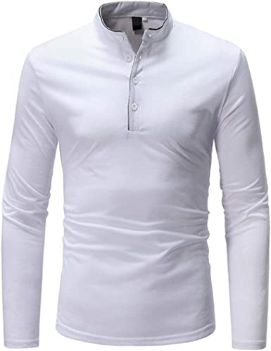 Sudadera para Hombre Camisa Entallada Hombre Cuello Redondo ...