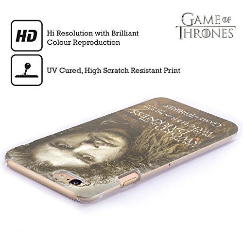 Officiel HBO Game Of Thrones Jon Snow Portraits De Personnage Étui Coque D'Arrière Rigide Pour Apple iPhone 5c