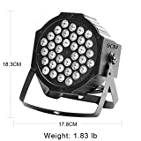 Black Lights, U`King 72W 36LED UV Blacklight with