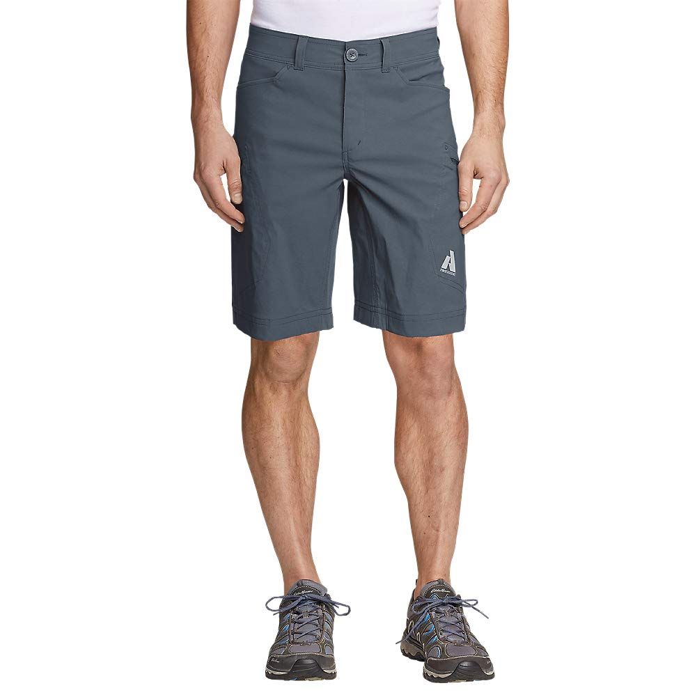Eddie Bauer Men's Guide Pro Shorts, Graphite Tall 34
