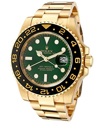 Rolex New GMT-Master II 116718 40mm Gold Green 2019 Box/Paper/5YrWarranty #RL161