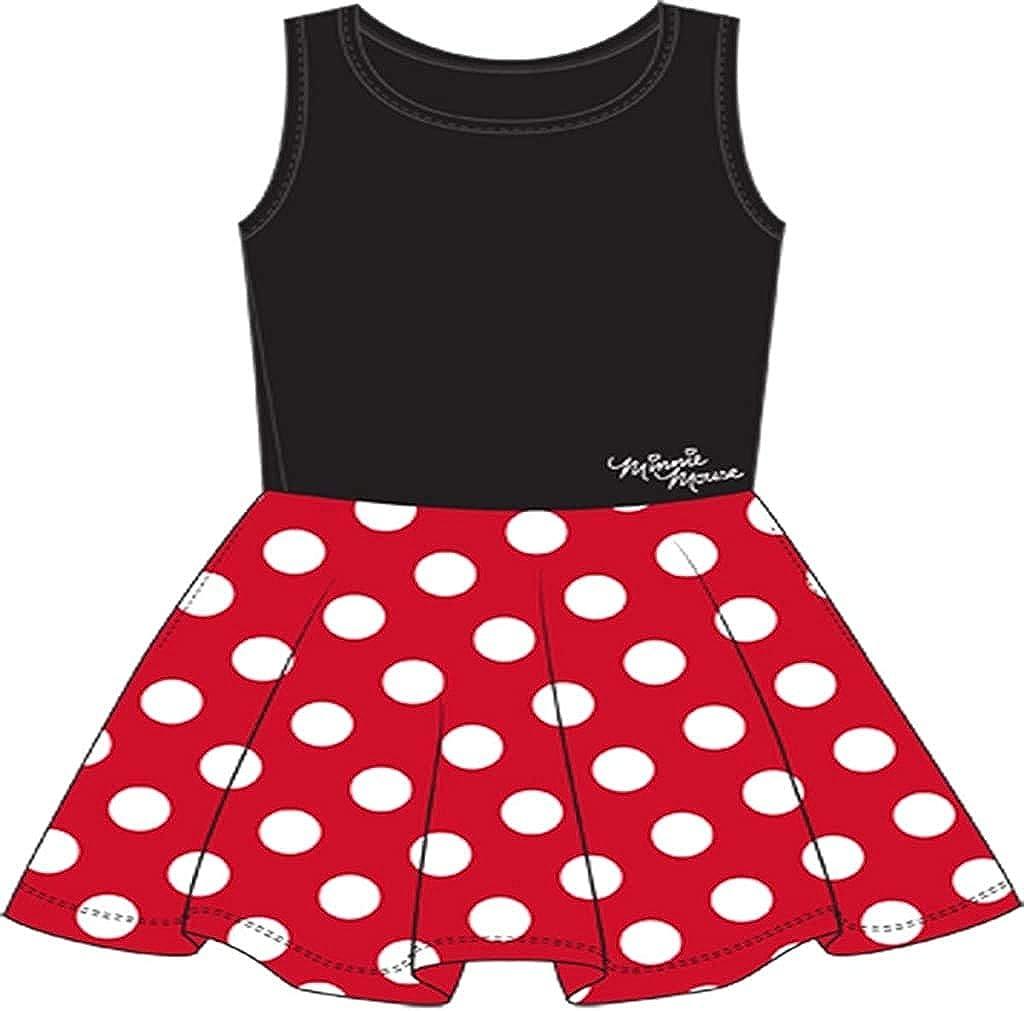 Minnie Bow Polka Dot Red /& Black Dress